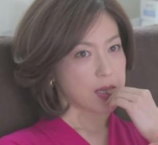 ドラマ『美しき罠 残花繚乱』若村麻由美さんのボブヘアスタイル